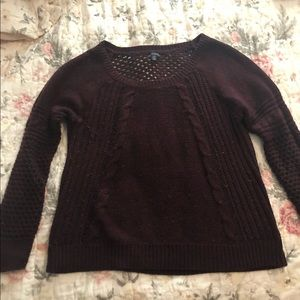 American Eagle Outfitters Sweaters - American Eagle maroon sweater